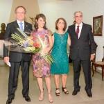 3. Posse José Luiz Martins Costa Kessler e Ana Carolina e casal ex presid. - Mara de Marco e José Fernando Leon