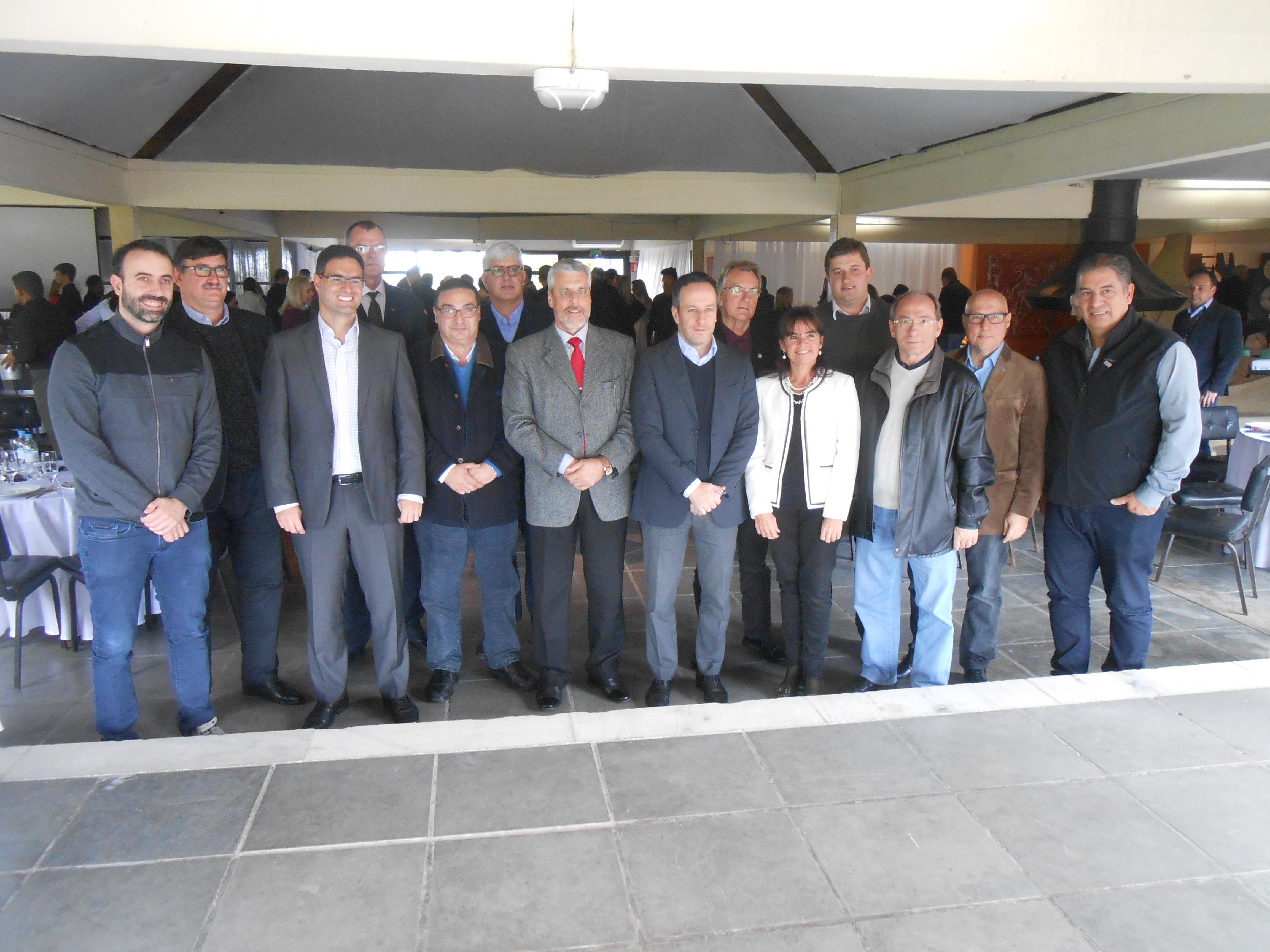 Diretoria da ARP participa de reunião-almoço promovida pela Aliança Pelotas