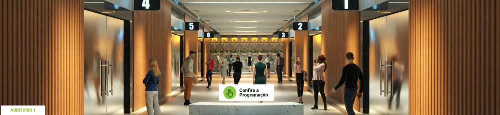 Palestras e seminários serão realizados em Centro de Convenções com auditórios virtuais